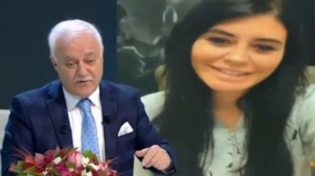 Ebru Polat'tan Nihat Hatipoğlu'na videolu soru