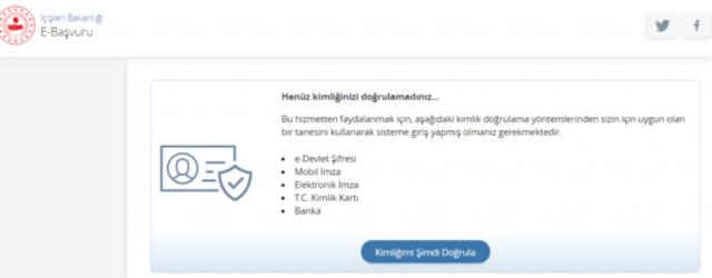 Seyahat izin belgesi nasıl alınır? e-Devlet seyahat izin belgesi alma ekranı