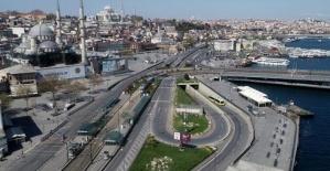İstanbul'da ramazan sessizliği!