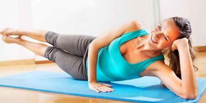 Karantina Günlerinde Evde Pilates Hareketleri