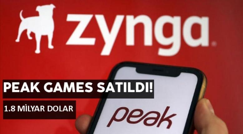 Peak Games'i oyun şirketi Zynga satın aldı ve resmi açıklama geldi! Peak Games kaça satıldı?