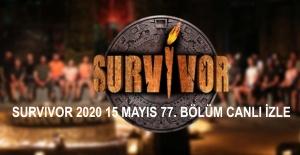 Survivor Ünlüler-Gönüllüler 15 Mayıs Cuma 77. Bölümü Canlı İzle! | Canlı TV İzle